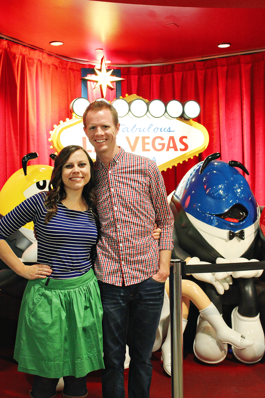 Las Vegas M&M Factory Tour and Shop