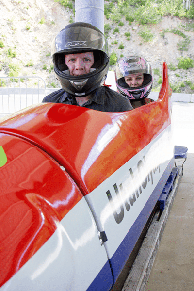 Bobsled on an Olympic Track: Our Once-in-a-Lifetime Date