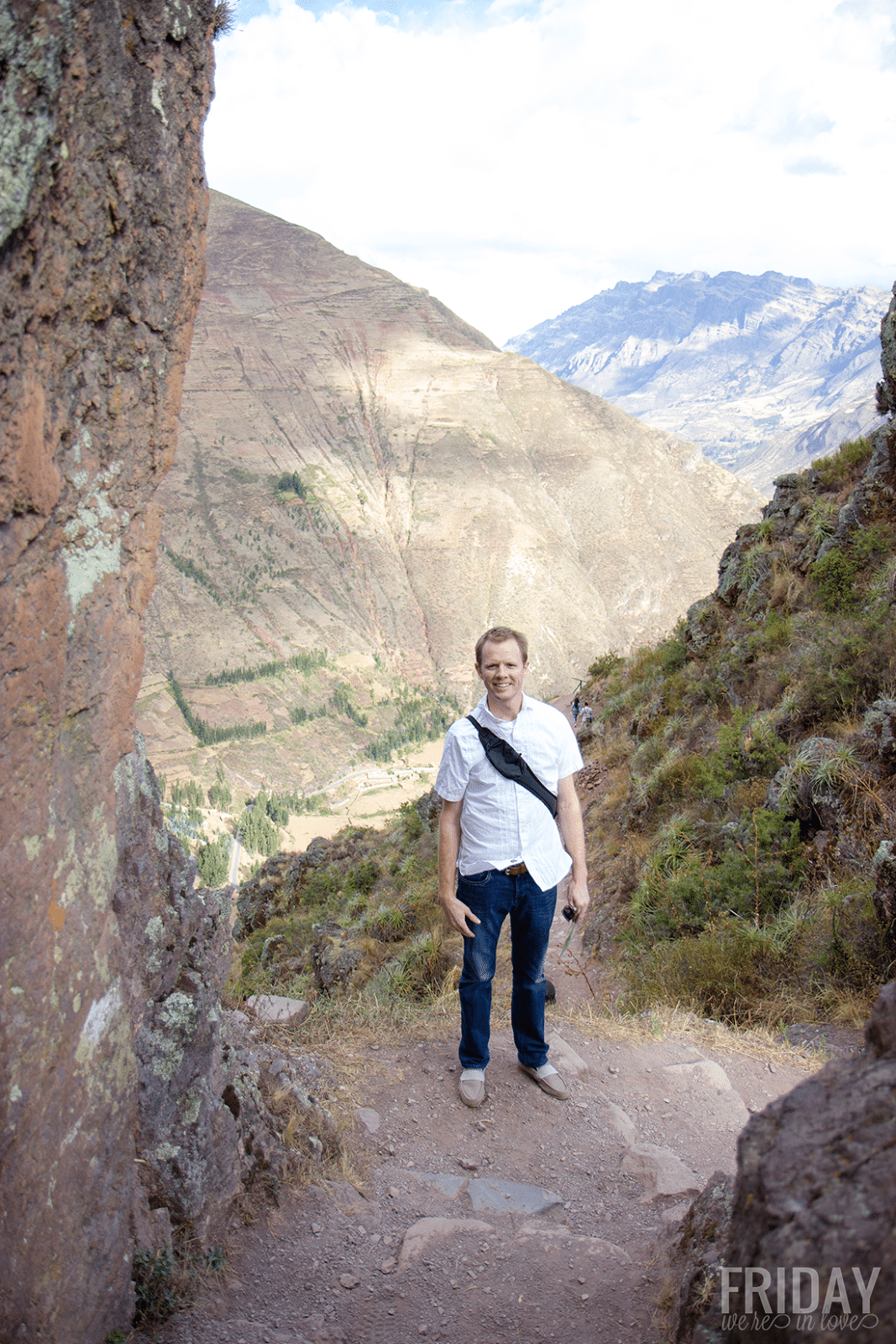 Pisac Ruins- off the cliff