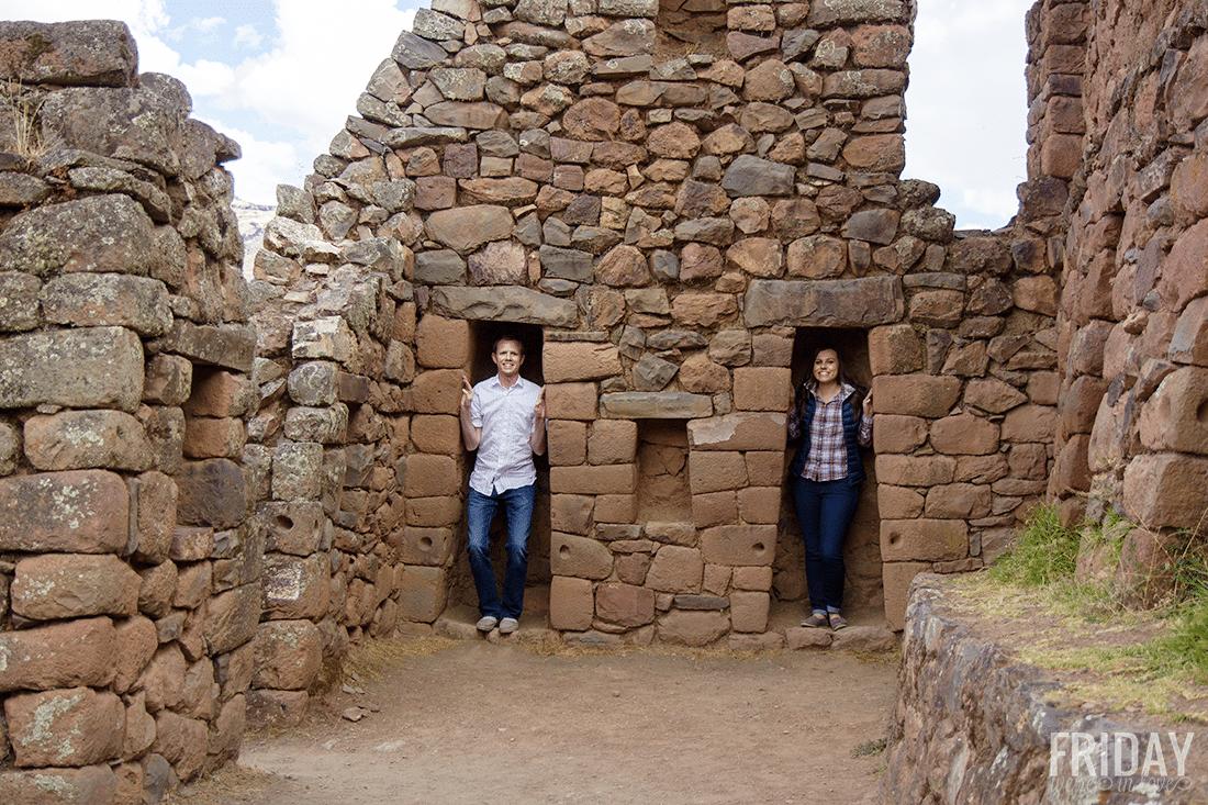 Incan Temple- Pisac Peru