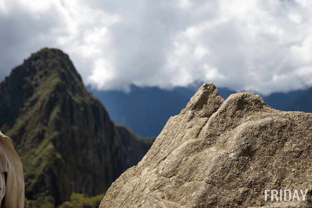 Incan Map Machu Picchu