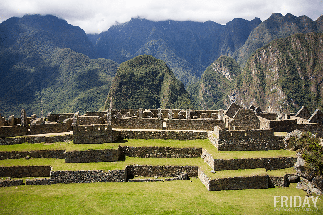 Incan Homes in Machu Picchu