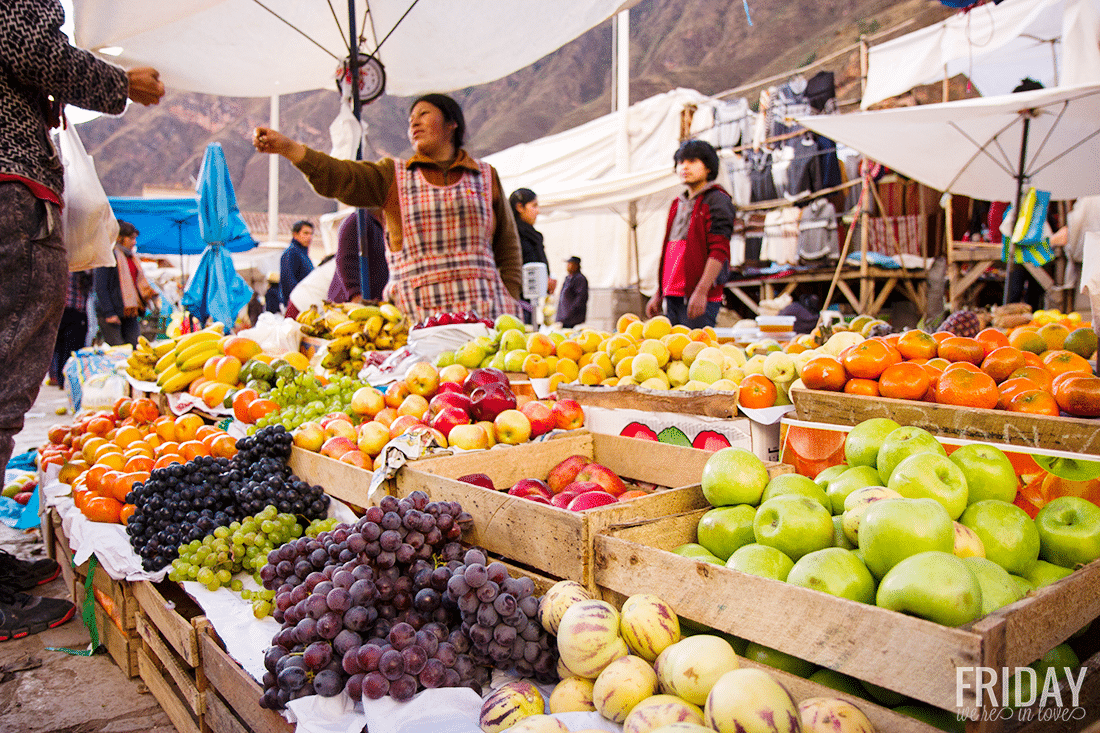 Pisac Farmer's Market Peru Fruit