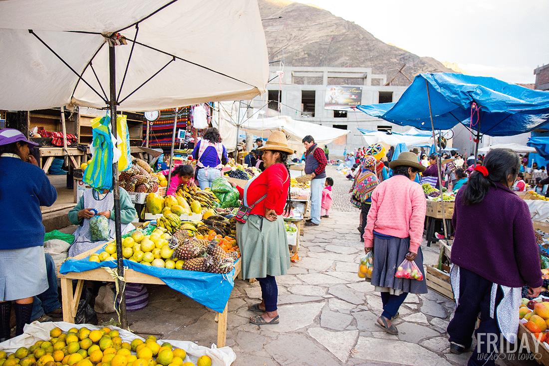 Locals- Pisac Market