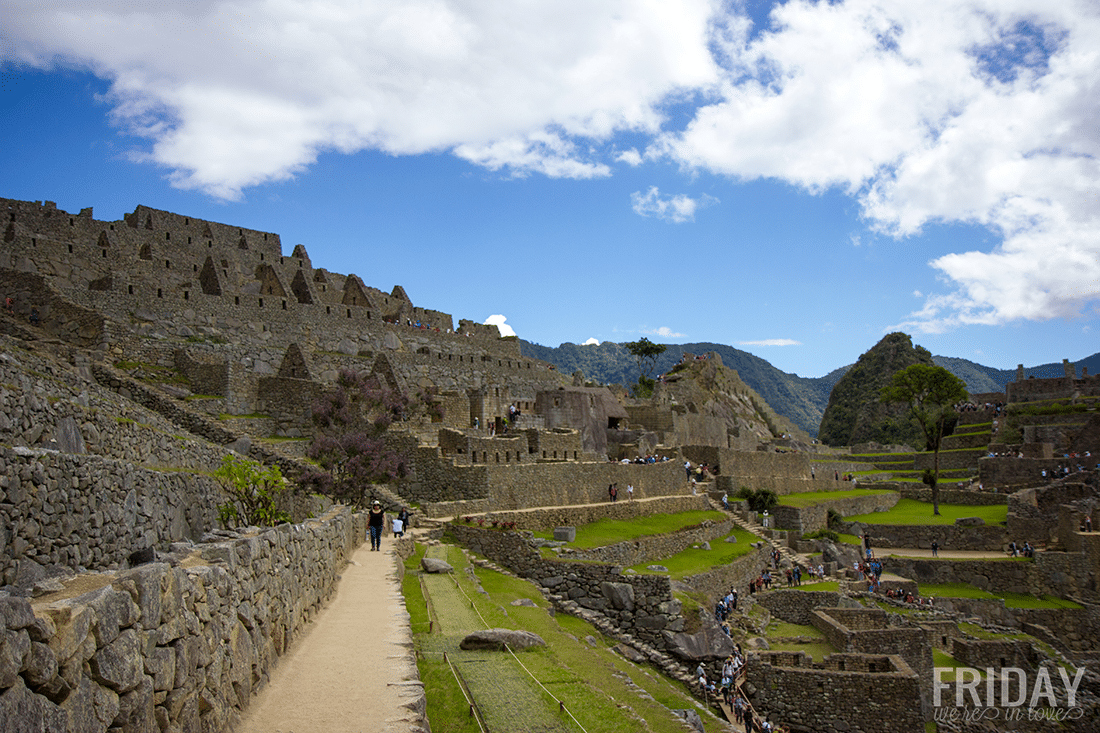 Ancient Machu Picchu Incan City