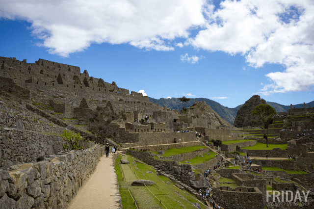 Ancient Machu Picchu Incan City