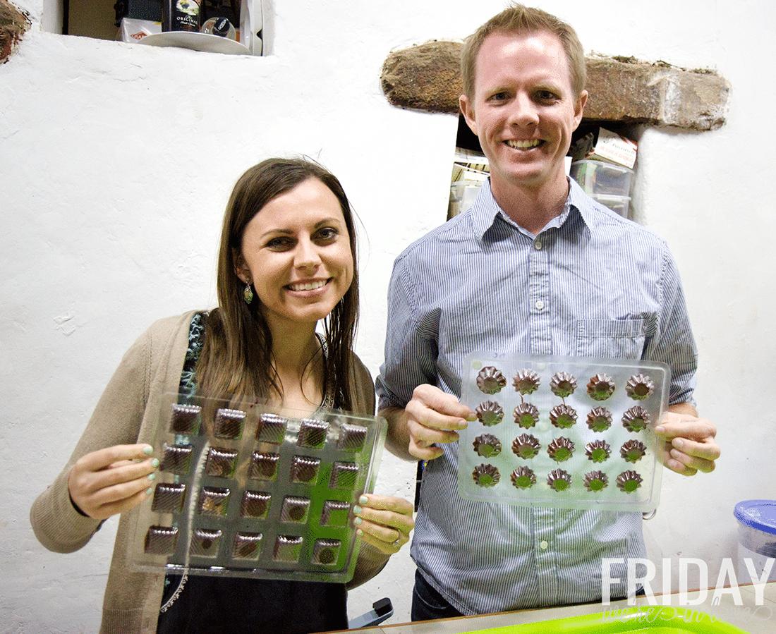 Make chocolate from scratch in Peru