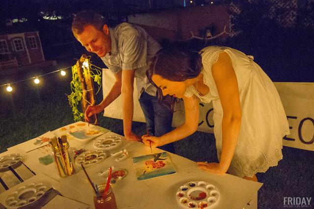 Watercolor Class Date Night