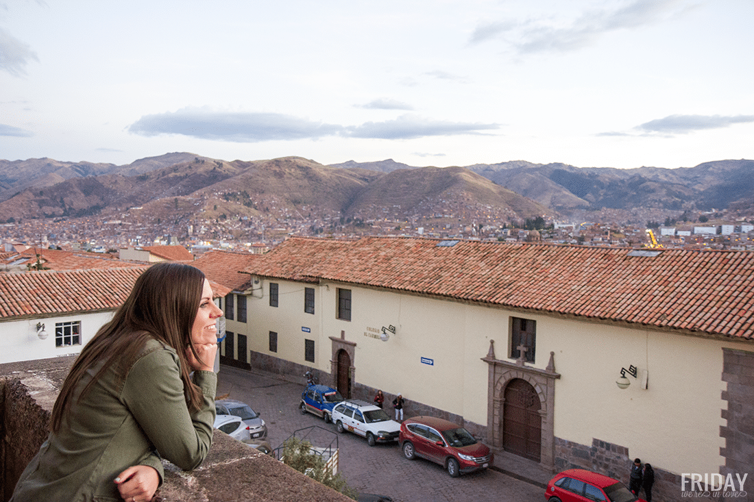 Viewing Cusco