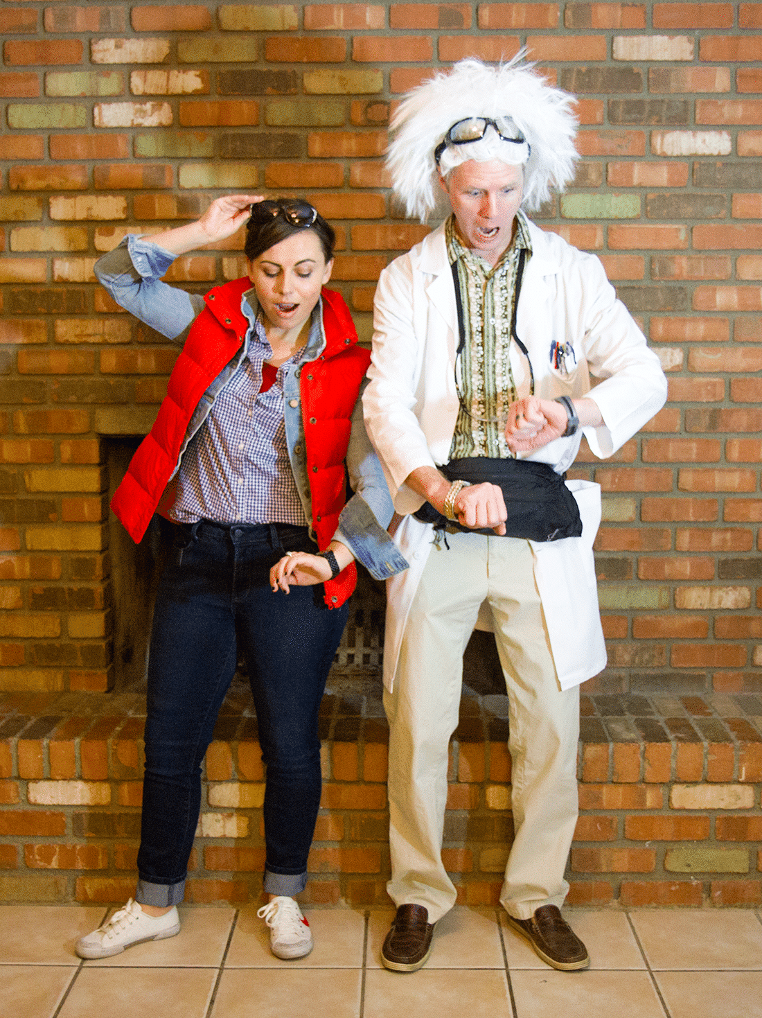 Back to The Future Marty McFly Jacket Fancy Dress Costume X-Small