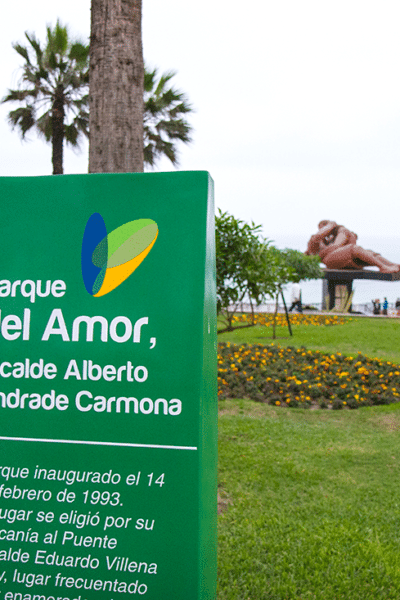 7 Days in Peru: Day 6 Lima- Parque del Amor (Park of Love) Date Night