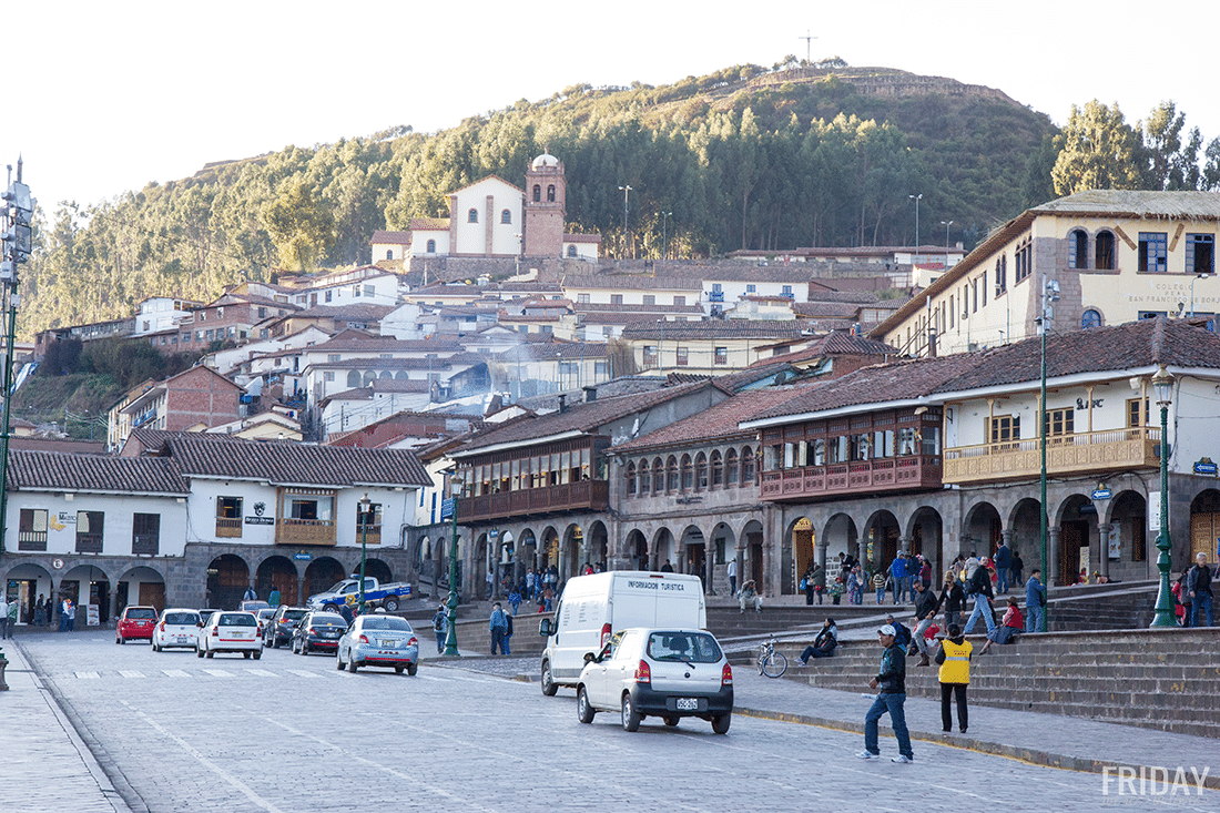 Streets of Cusco Peru