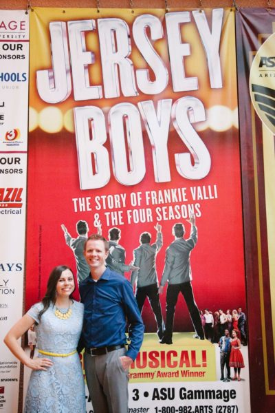 12 Months of Dates: August: Jersey Boys