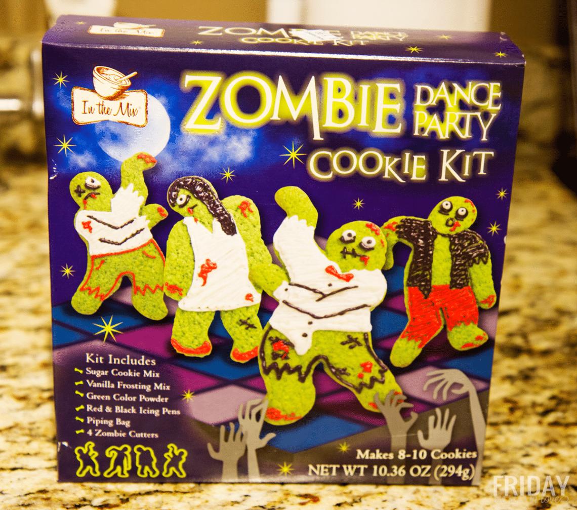 Zombie sugar cookies