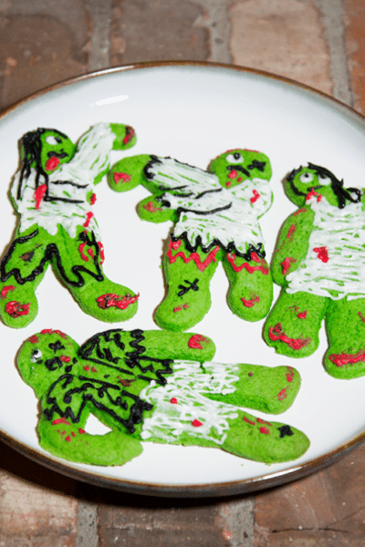 Halloween Date Night- Zombie Sugar Cookie Baking/Decorating