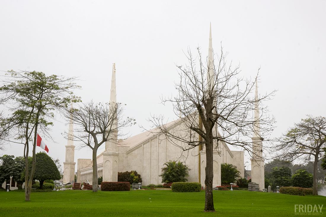 Lima Peru LDS Temple