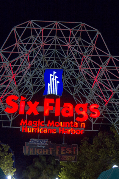 Six Flags Magic Mountain Fright Fest