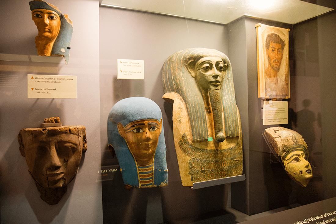 Mummies at the Natural History Museum