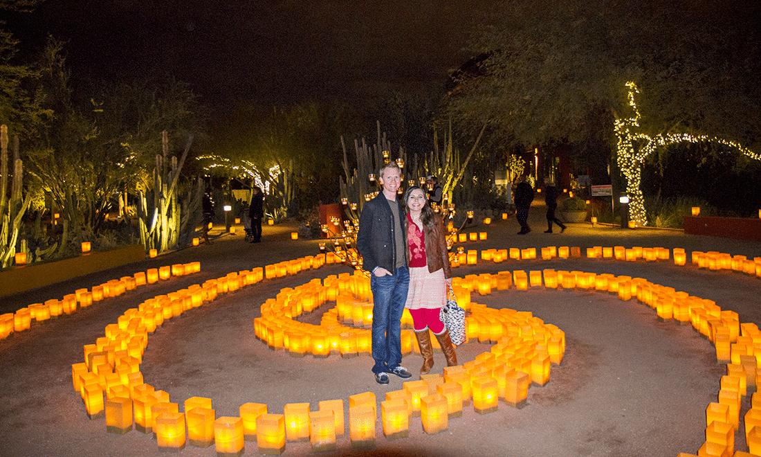 1f5ff img 9541 - Tucson Botanical Gardens Luminaria Night 2019