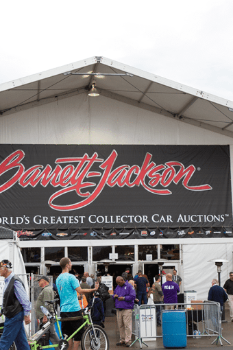 Barret Jackson Collector Car Auction Date
