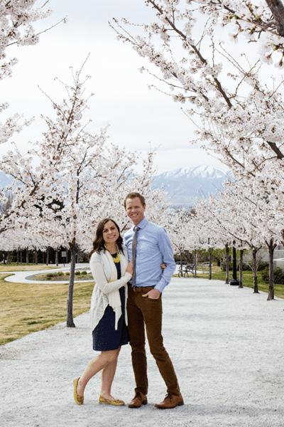 Anniversary Utah Getaway: Spring in Utah Walk