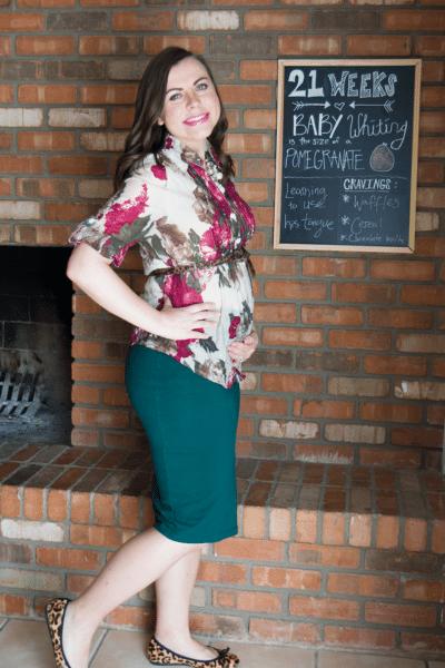 Pregnancy Update: 21 Weeks