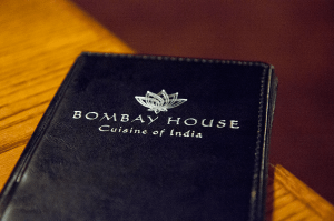 Bombay House Menu