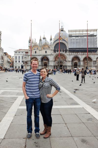 Italy Day 1: Venice, St. Mark's Basilica and Dodge Palace