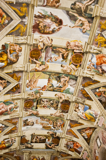 Italy Day 2: Rome: The Sistine Chapel