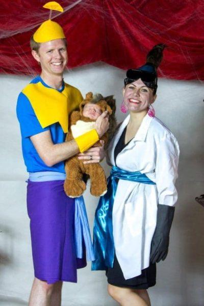 Halloween 2015: Emperor's New Groove Costumes