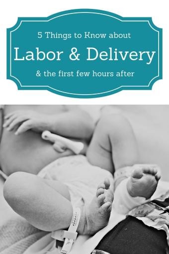 Those Magical Hours After Birth- 5 Things to Know About the First Few Hours After Labor & Delivery