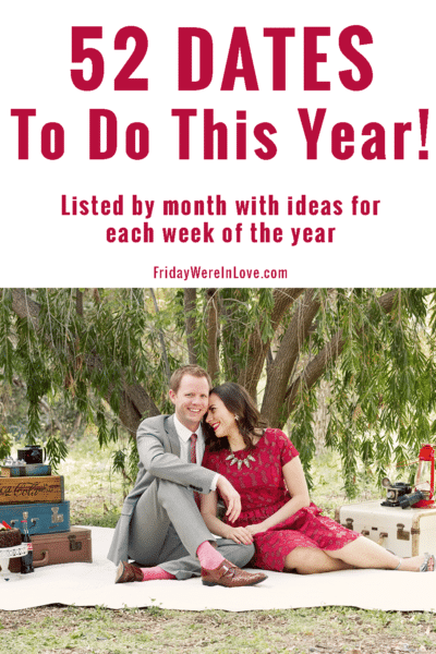 52 Dates to Do This Year