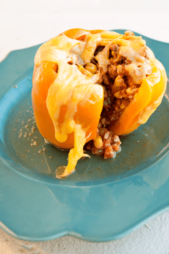 One Meal Now, One Meal Later: Stuffed Bell Peppers