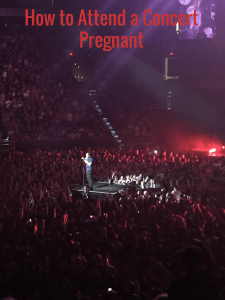 How to attend a concert pregnant