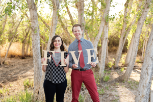 Friday We're in Love: Anniversary #5 photo shoot