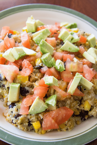 One Meal Now, One Meal Later: Quinoa Enchilada Casserole