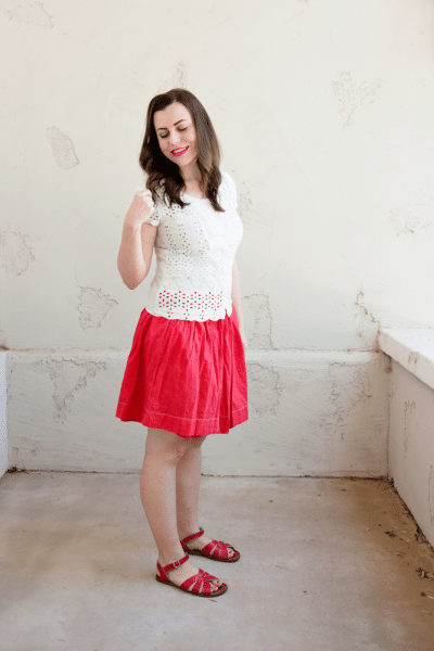 1 a-line skirt 3 ways