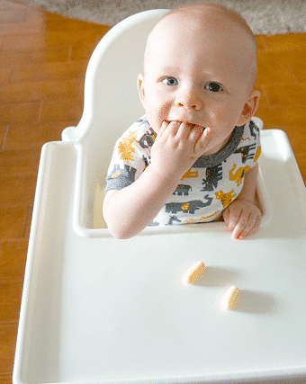 The Trick to Getting a Toddler to Sit Still