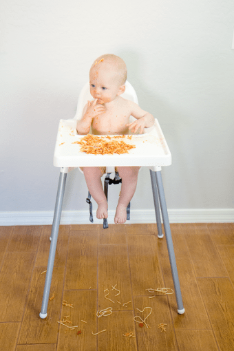 Independent Eating and Embracing Life's Messes