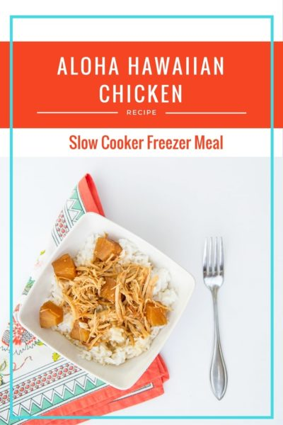 Aloha Hawiian Slow Cooker Chicken Recipe