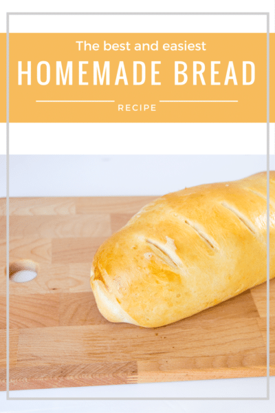 The Easiest and Best Homemade Bread Recipe