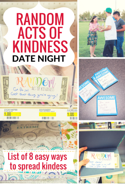 Random Acts of Kindness Date Idea