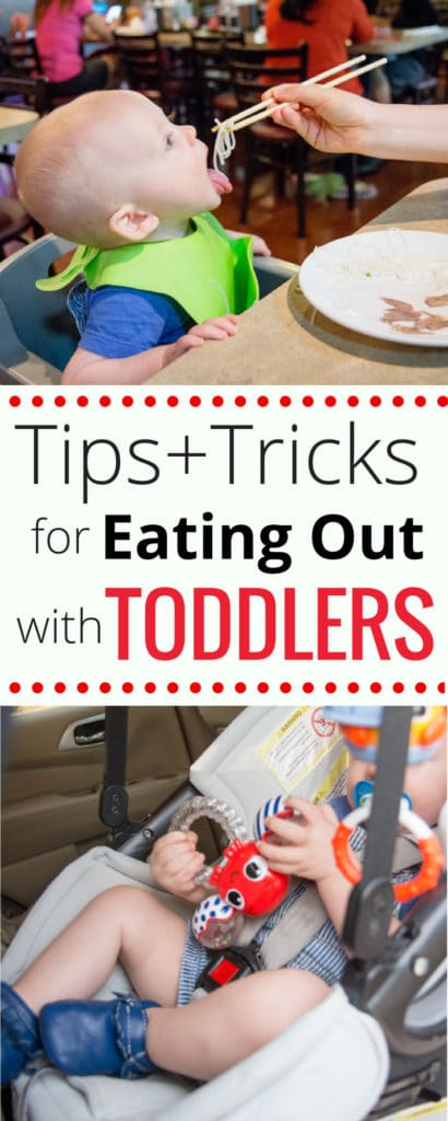Tips and Tricks for Eating Out with Toddlers