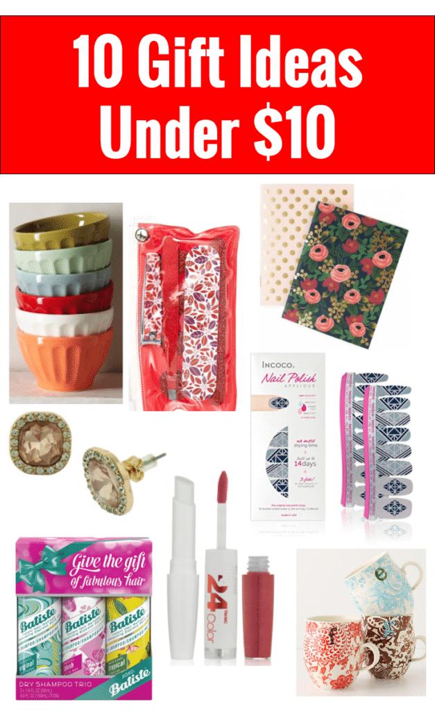 10 Gift Ideas Under $10