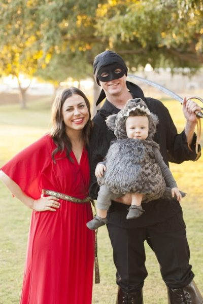 Princess Bride Family Halloween Costume