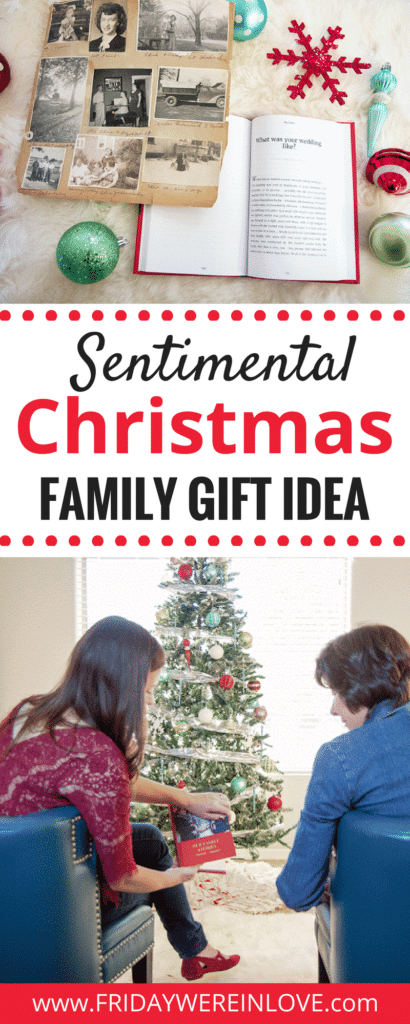 Sentimental Christmas Gift Idea