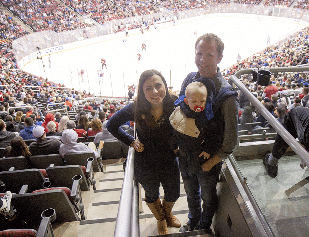 One of the best winter date ideas out there, attend an NHL hockey game date and enjoy a fast-paced date that still leaves you with plenty of time to talk.