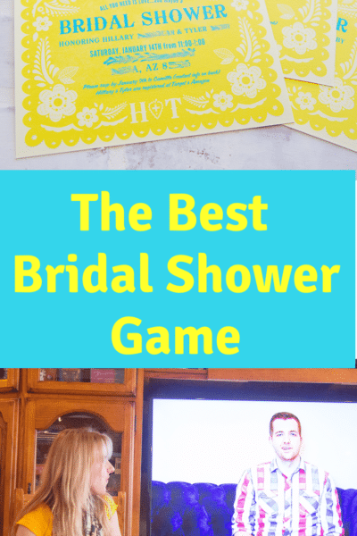 The Best Bridal Shower Game