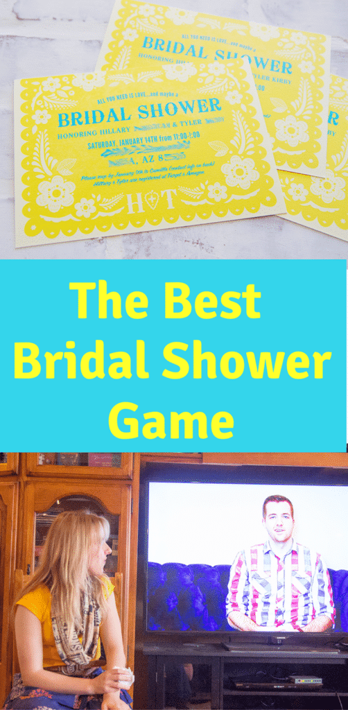 The Funnest Bridal Shower Game