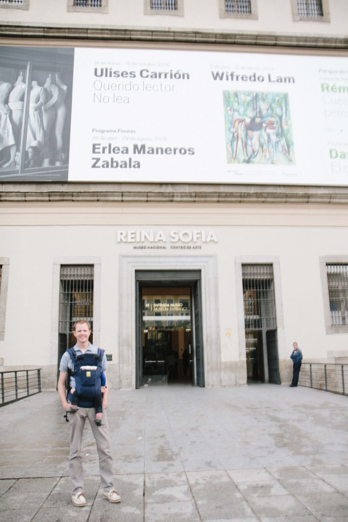 Reina Sofia Outside